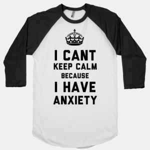 calm and anxiety t