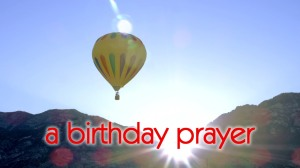 birthday prayer
