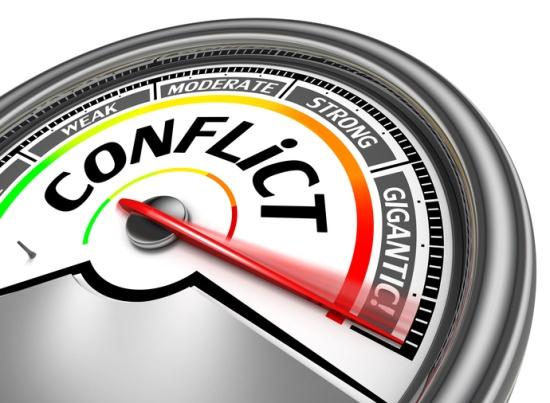conflict conceptual meter