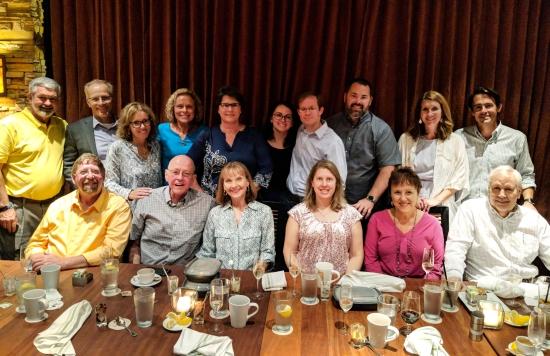 Retirement Dinner Photo