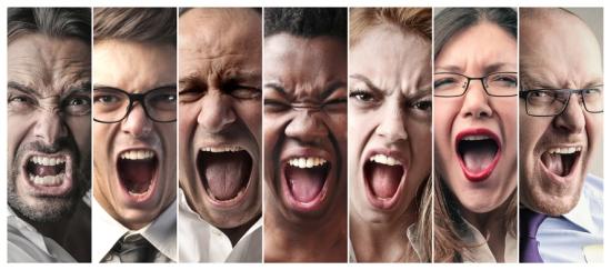 Group scream